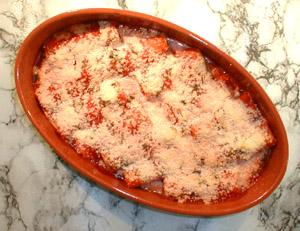 Cannelloni à la ricotta