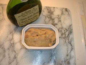 Foie gras mi-cuit à la façon de Mamie Chantilly